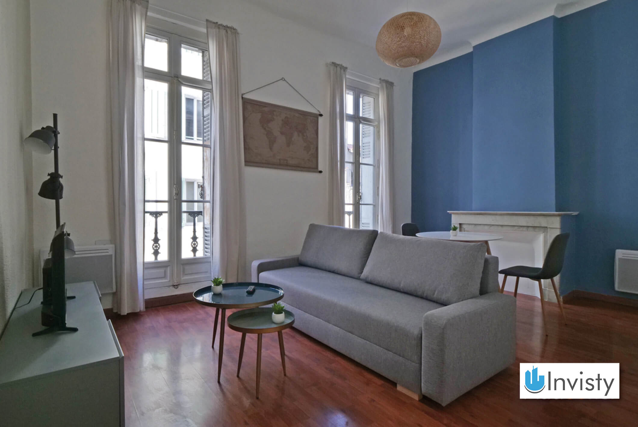 T2 43m² Marseille salon