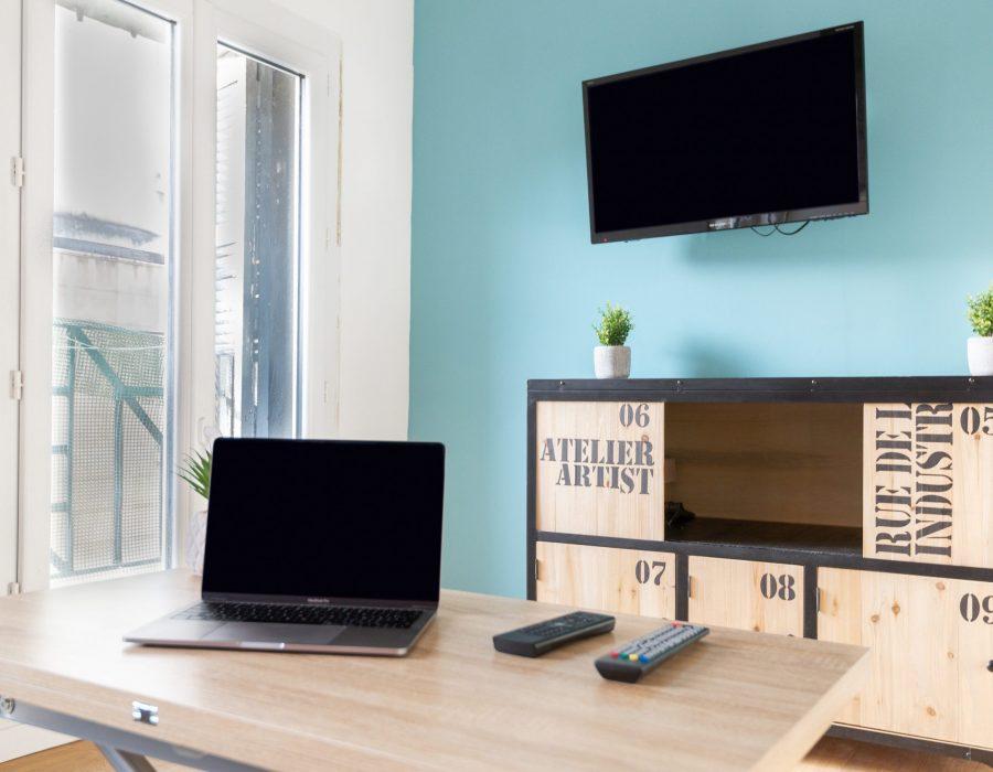 Rénovation studio meublé